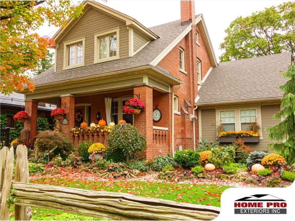 Sprucing up Your Home's Exterior For Fall