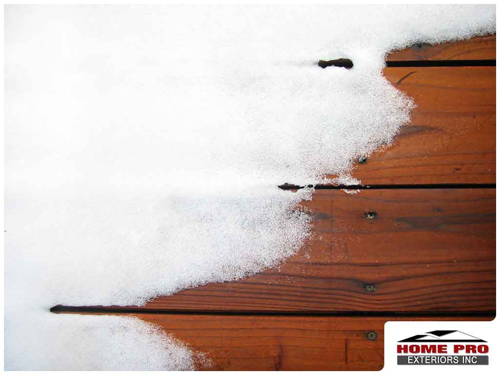 Winterizing Your Deck