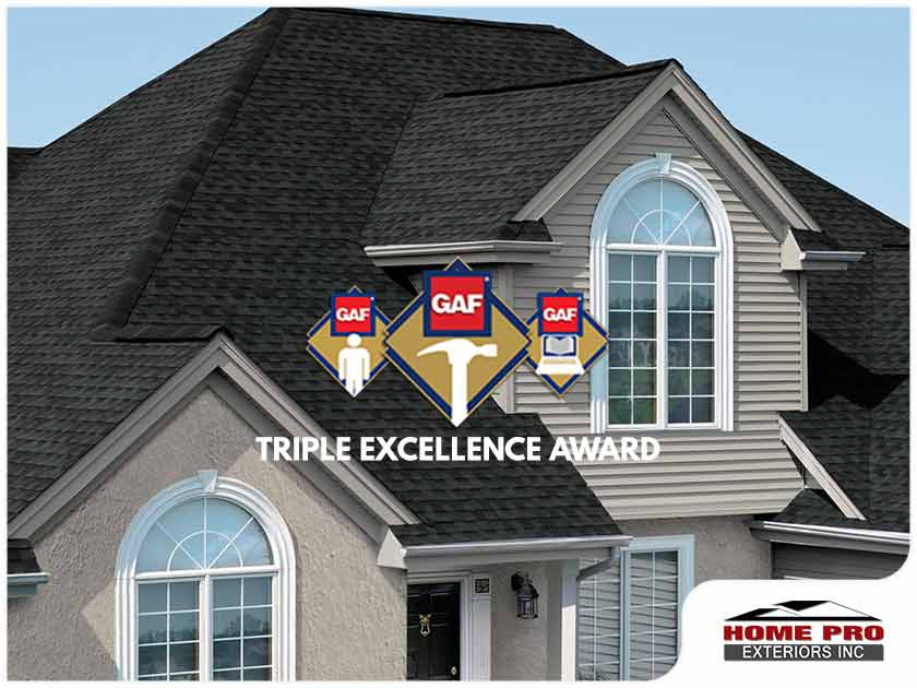 What is the GAF Triple Excellence Award?
